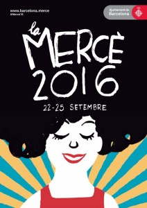 Cartel de La Mercè 2016