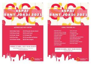 Espai Sant Jordi 2021 @ Canal You Tube SCC